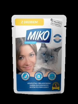 MIKO STERILISED – karma dla kotów sterylizowanych
