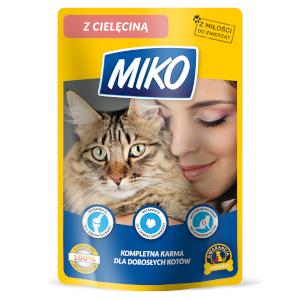 MIKO – pełnoporcjowa karma dla kotów